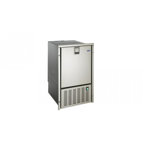 White Ice Maker - stainless steel door - Isotherm